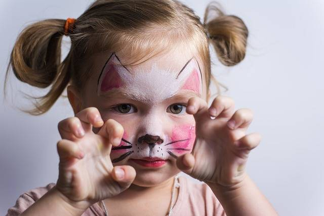 Free photo: Baby, Cat, Kids, Cute, Aqua Make-Up - Free Image on Pixabay - 2953802 (100145)