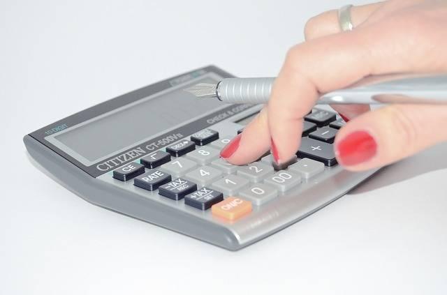Free photo: Calculator, The Hand, Calculate - Free Image on Pixabay - 428294 (100804)