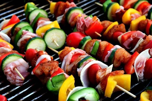 Free photo: Shish Kebab, Meat Skewer - Free Image on Pixabay - 417994 (102983)