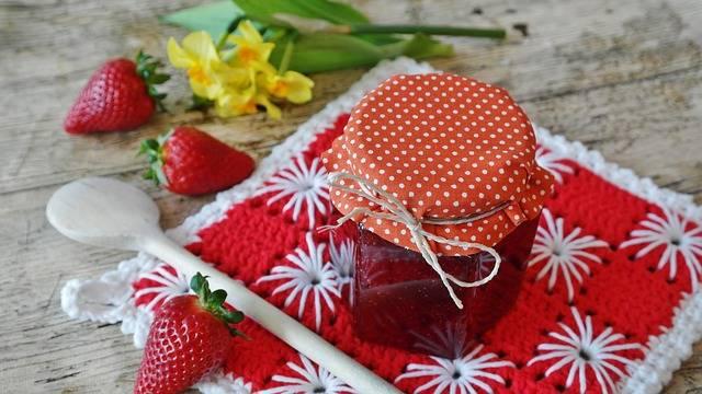 Free photo: Strawberry Jam, Strawberries, Fruit - Free Image on Pixabay - 1329431 (104250)