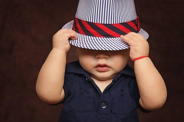Free photo: Baby, Boy, Hat, Covered, Eyes - Free Image on Pixabay - 1399332 (105038)