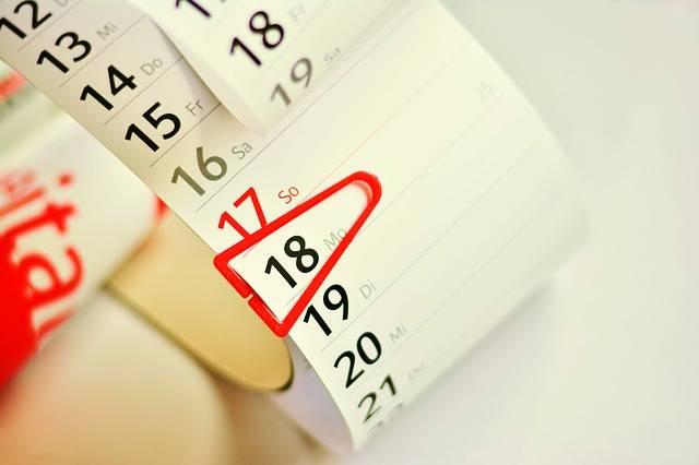 Free photo: Calendar, Date, Dates, Planning - Free Image on Pixabay - 3073971 (105458)