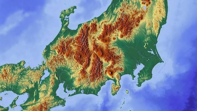 Free illustration: Japan, Tokyo, Fuji, Map, Relief Map - Free Image on Pixabay - 1804903 (105536)