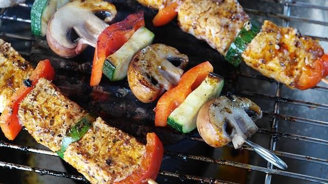 Free photo: Meat, Vegetables, Gemuesepiess - Free Image on Pixabay - 1440105 (105929)