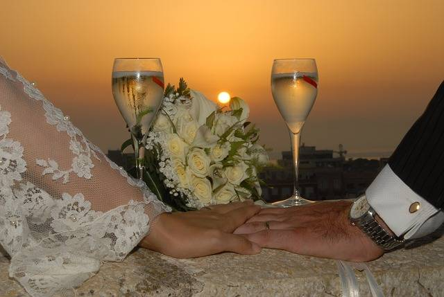 Free photo: Marriage, Sunset, Wedding, Love - Free Image on Pixabay - 2104147 (107428)
