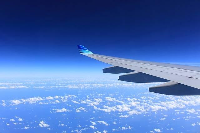 Free photo: Wing, Plane, Flying, Airplane, Sky - Free Image on Pixabay - 221526 (110055)