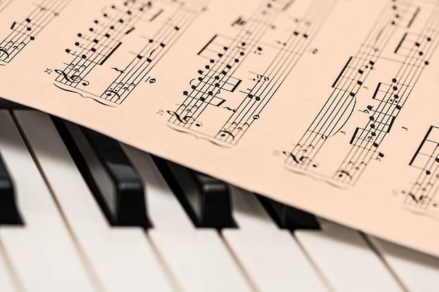 Piano Music Score Sheet · Free photo on Pixabay (115271)