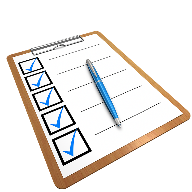 Checklist Clipboard Questionnaire · Free image on Pixabay (115719)