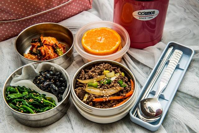 Lunch Box Dishes Korean Side · Free photo on Pixabay (117111)