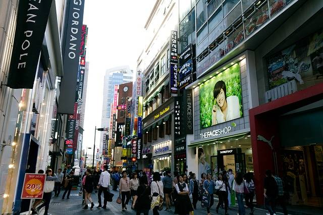Myeongdong Seoul Korea · Free photo on Pixabay (117305)