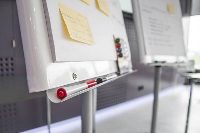Workshop Pens Post-It Note Sticky · Free photo on Pixabay (118331)