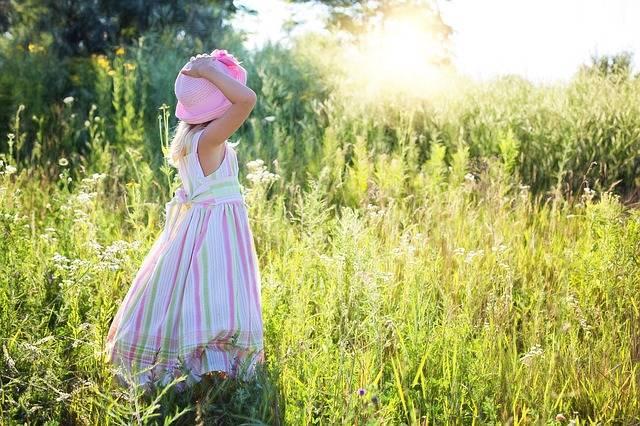 Little Girl Wildflowers Meadow · Free photo on Pixabay (118458)