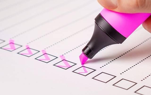 Checklist Check List · Free image on Pixabay (120942)