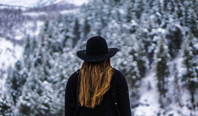 Woman Forest Black Hat · Free photo on Pixabay (121075)
