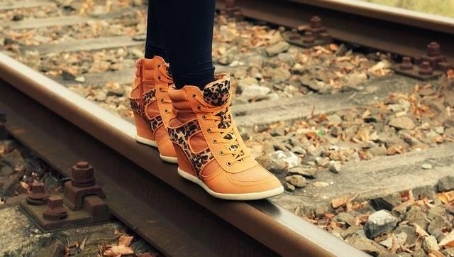 Boots Travel Railroad Tracks · Free photo on Pixabay (121437)