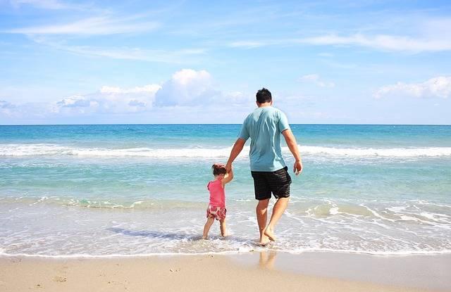 Father Daughter Beach · Free photo on Pixabay (122930)