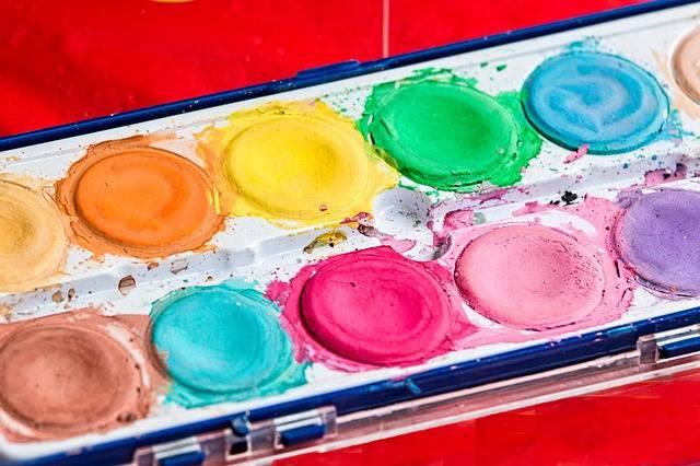 Palette Brush Paint Box · Free photo on Pixabay (127490)