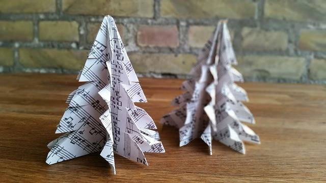 Origami Christmas Ornaments Paper · Free photo on Pixabay (128193)