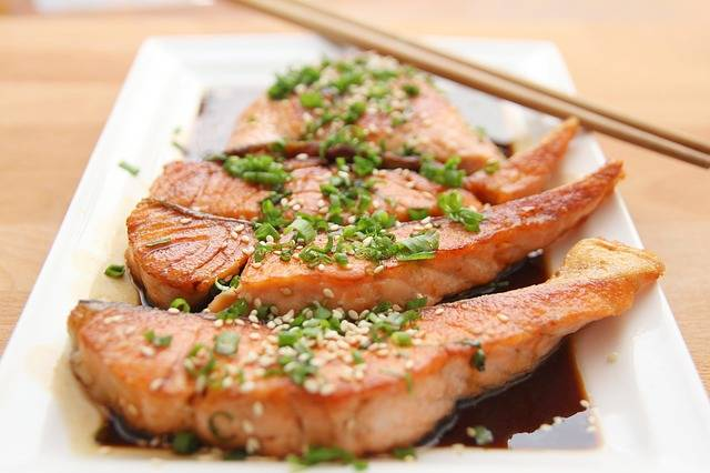Food Salmon Teriyaki · Free photo on Pixabay (138501)