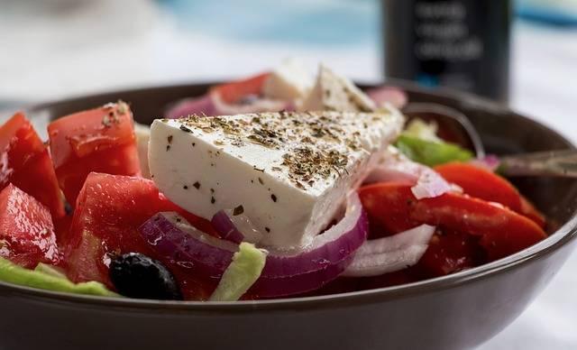 Greek Salad Feta Shell · Free photo on Pixabay (141085)