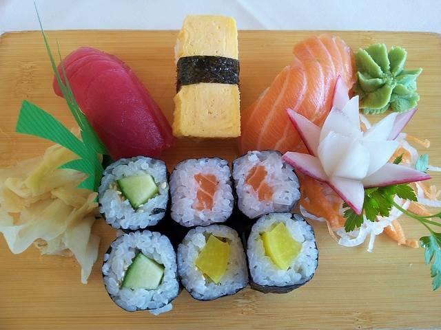 Sushi Asia Fish · Free photo on Pixabay (141332)