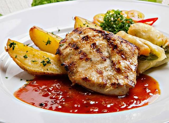 Chicken Steak Menu - Free photo on Pixabay (142188)