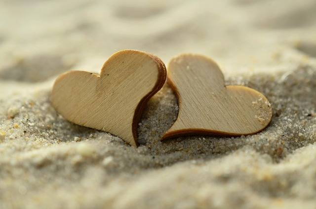 Sand Heart Wood - Free photo on Pixabay (143961)