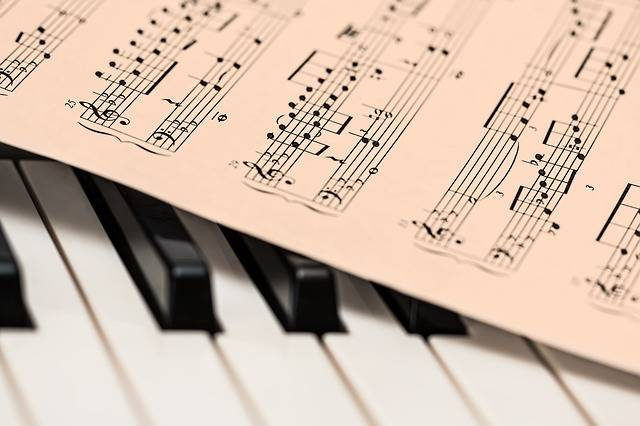 Piano Music Score Sheet - Free photo on Pixabay (145918)