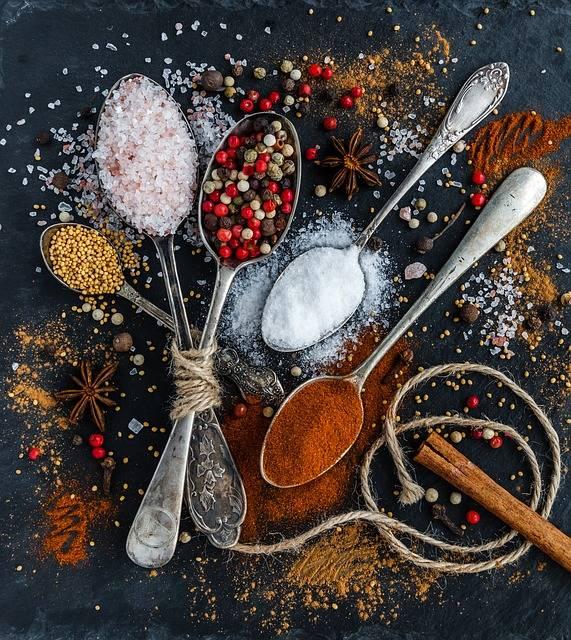 Salt Pepper Spoons - Free photo on Pixabay (147837)