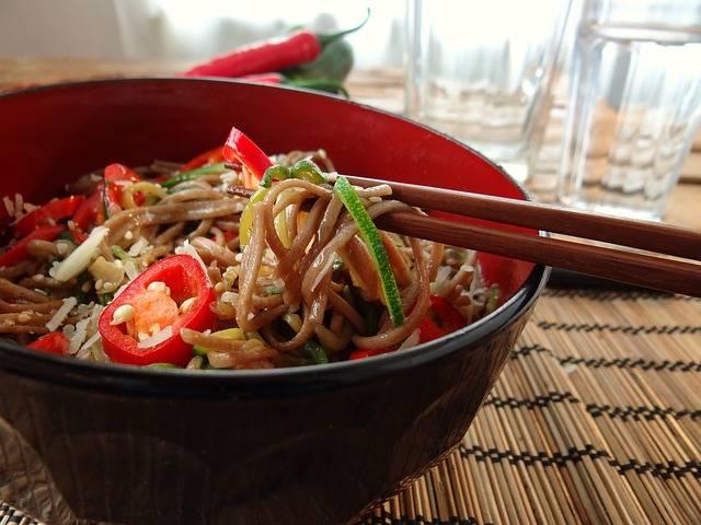 Chopsticks Soba Noodles - Free photo on Pixabay (147853)