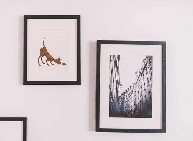 Picture Frames Wall Art Interior - Free photo on Pixabay (149255)