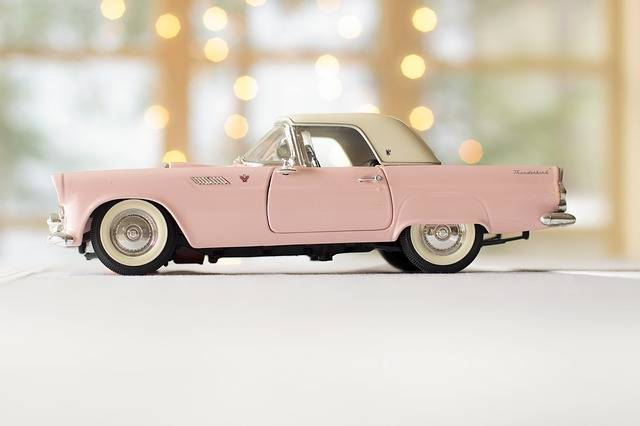 Car Pink Thunderbird - Free photo on Pixabay (153392)