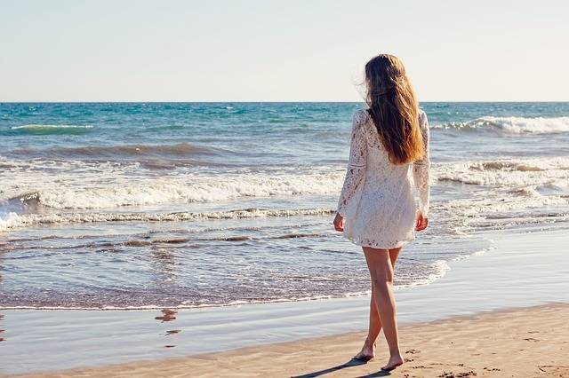 Young Woman Sea - Free photo on Pixabay (156165)