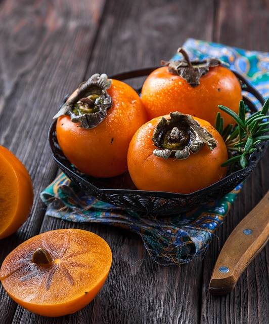 Persimmon Fruit Orange - Free photo on Pixabay (157012)