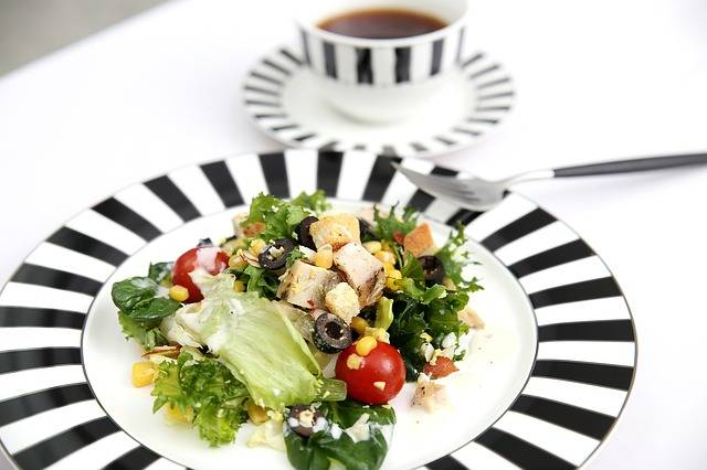 Salad Coffee Breakfast Chicken - Free photo on Pixabay (158059)