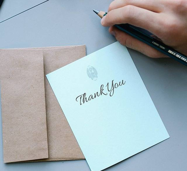 Thank You Thanks Card - Free photo on Pixabay (158762)