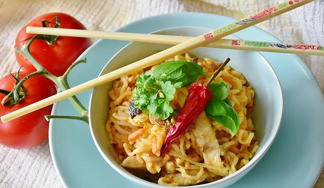Noodles Asia Vegetables - Free photo on Pixabay (158949)