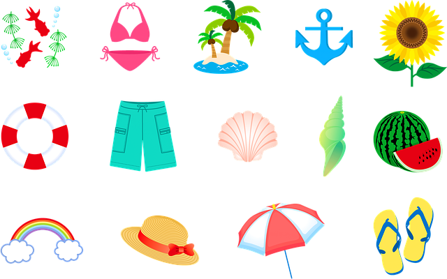 Summer Swimsuit Hat Island - Free image on Pixabay (159691)