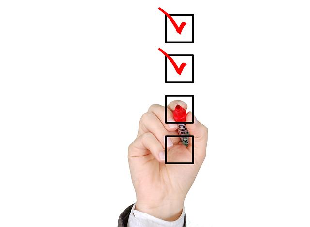 Checklist List Check - Free image on Pixabay (161337)