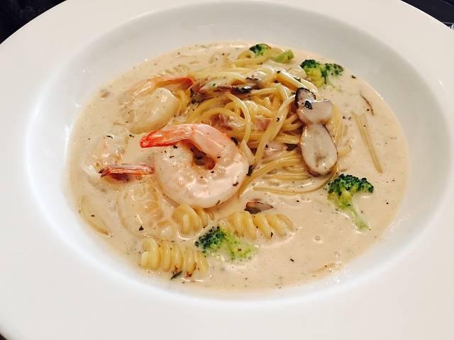 Pasta Seafood Cream - Free photo on Pixabay (163986)