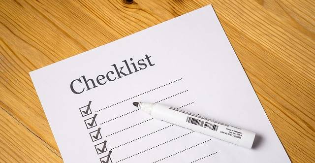 Checklist Check List - Free image on Pixabay (164079)