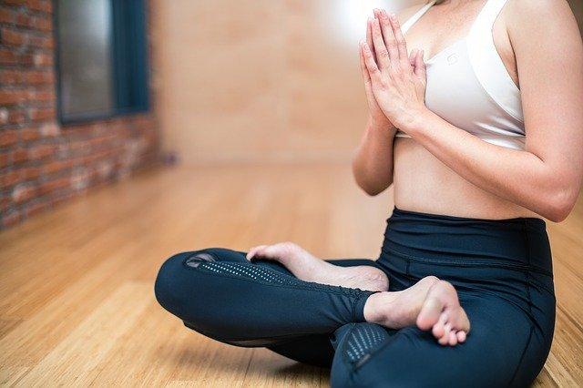 Yoga Exercise Fitness - Free photo on Pixabay (168468)