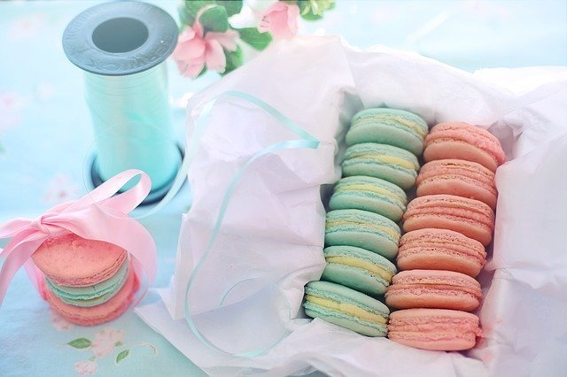 Macarons Pink Aqua - Free photo on Pixabay (170036)