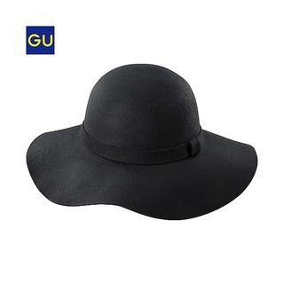 GU(GU)ウールキャペリンハット - GU ジーユー (1564)