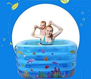 Amazon | (ヘラサ)Herasa ベビープール ベビーバス 水抜き・空気抜きプール 滑り止め | プール 通販 (63358)