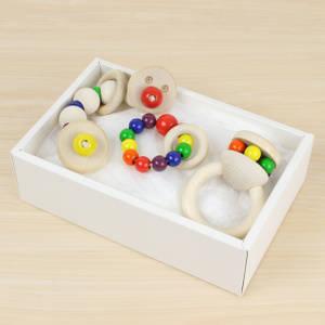 【楽天市場】【ベビーギフト ドイツ シャーフ社 はじめての木のおもちゃ3点セット】 (82707)