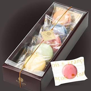 Amazon | n マカロン 5個入 手提げ紙袋付き 個包装 天使がくれたマカロン ギフト お菓子 プチギフト お中元 | お菓子屋フランソワ | ケーキ・洋菓子 通販 (121957)