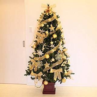 LED 木製ポットセットツリー クリスマスツリー 18...