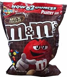 M&M's エムアンドエムズ ミルクチョコレート【...