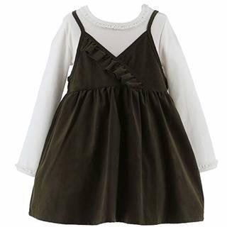 Amazon | (キャサリンコテージ) Catherine Cottage 子供服 カジュアル HS115 コーデュロイワンピ・キャミソールセット/ドットワンピース | ワンピース・チュニック 通販 (130191)